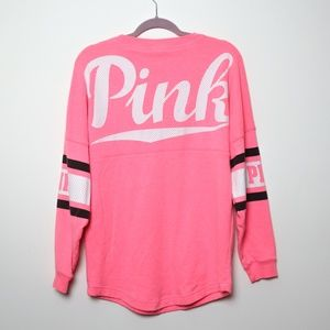 Pink   Neon Jersey Long Sleeve S